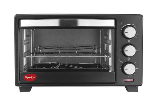 Stovecraft Baker's Collection 16 Liter Oven Toaster and Grill for Grilling and Baking Cake (OTG) by Pigeon